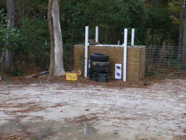 Best ideas about Backyard Shooting Range . Save or Pin Backyard Airgun Range 4 Steps Now.