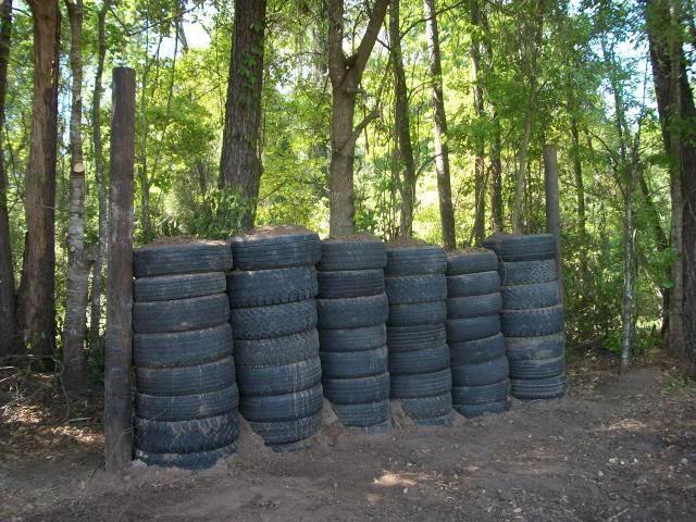 Best ideas about Backyard Shooting Range . Save or Pin Tires and dirt Backyard Shooting Range Now.
