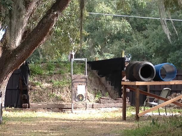 Best ideas about Backyard Shooting Range . Save or Pin Fruitland Park backyard gun range located near elementary Now.