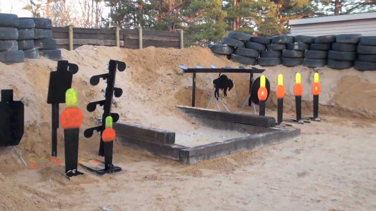 Best ideas about Backyard Shooting Range . Save or Pin Shooting Range Now Finished Now.
