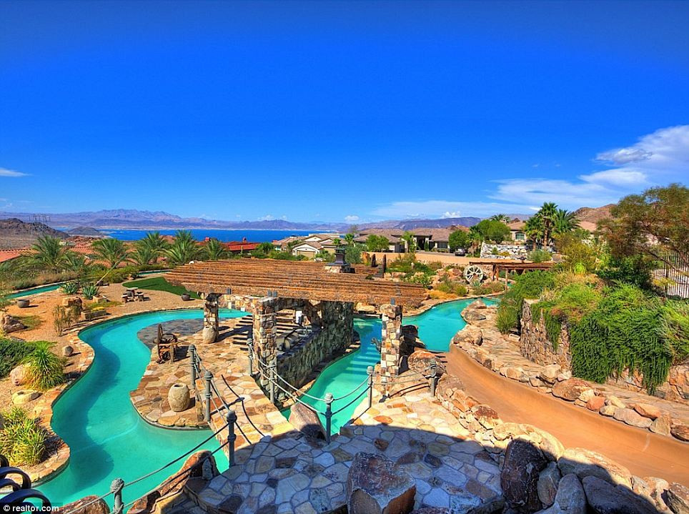 Best ideas about Backyard Water Park . Save or Pin Nevada mansion with its own backyard WATER PARK makes a Now.