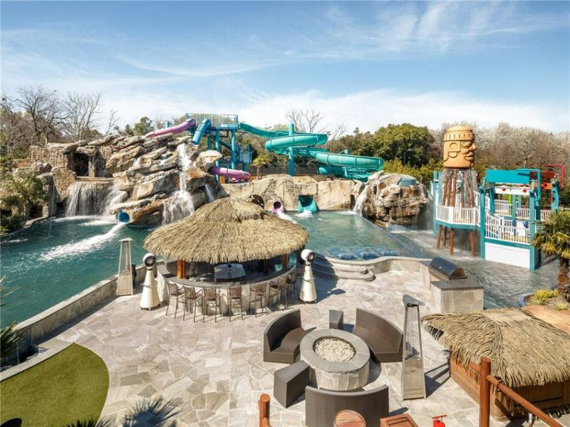 Best ideas about Backyard Water Park . Save or Pin Dream home with backyard water park in Dallas is on sale Now.