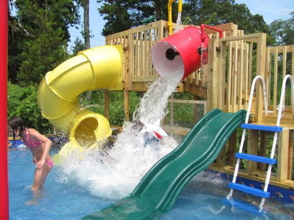 Best ideas about Backyard Water Park . Save or Pin residential waterpark water park waterpark residential Now.