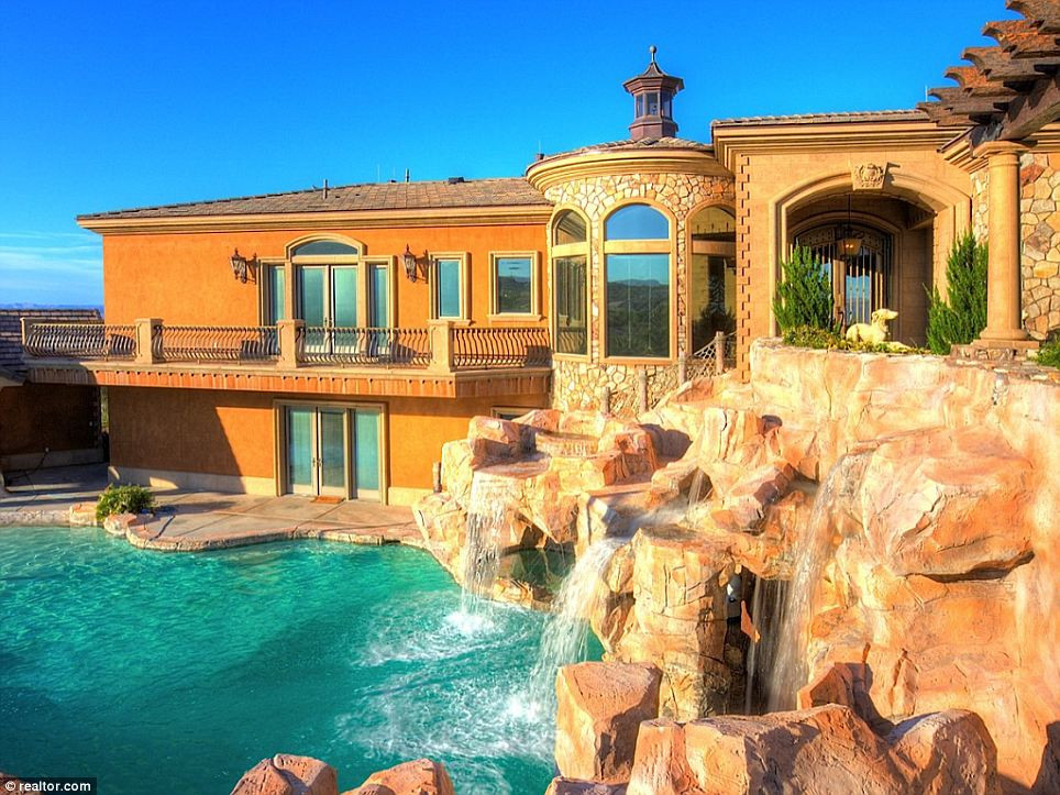 Best ideas about Backyard Water Park . Save or Pin Spectacular mansion in the Nevada desert es with its Now.