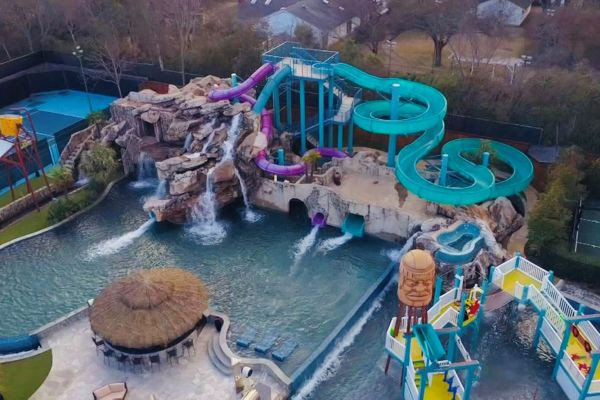 Best ideas about Backyard Water Park . Save or Pin $28 million Dallas mansion es with haunted water park Now.