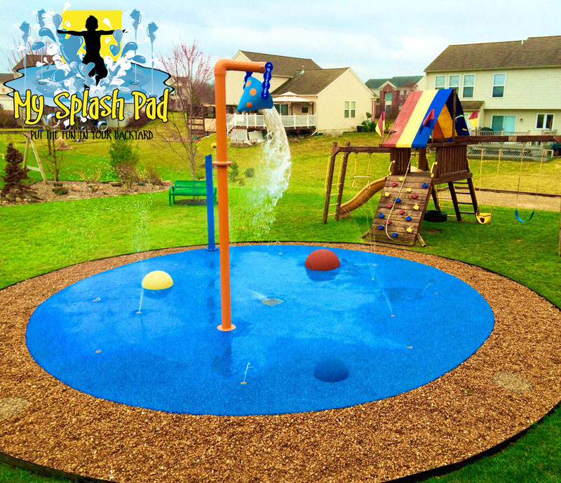 Best ideas about Backyard Water Park . Save or Pin Home Splash Park in Caledonia Michigan installed by My Now.