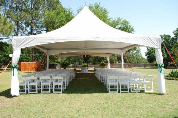 Best ideas about Backyard Wedding Rentals . Save or Pin How to Avoid Disasters at Your Outdoor Wedding Now.