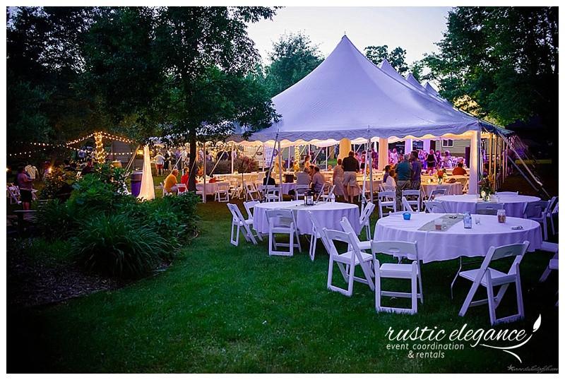 Best ideas about Backyard Wedding Rentals . Save or Pin Backyard Wedding Lissa & Brett MN Wedding Planner Now.