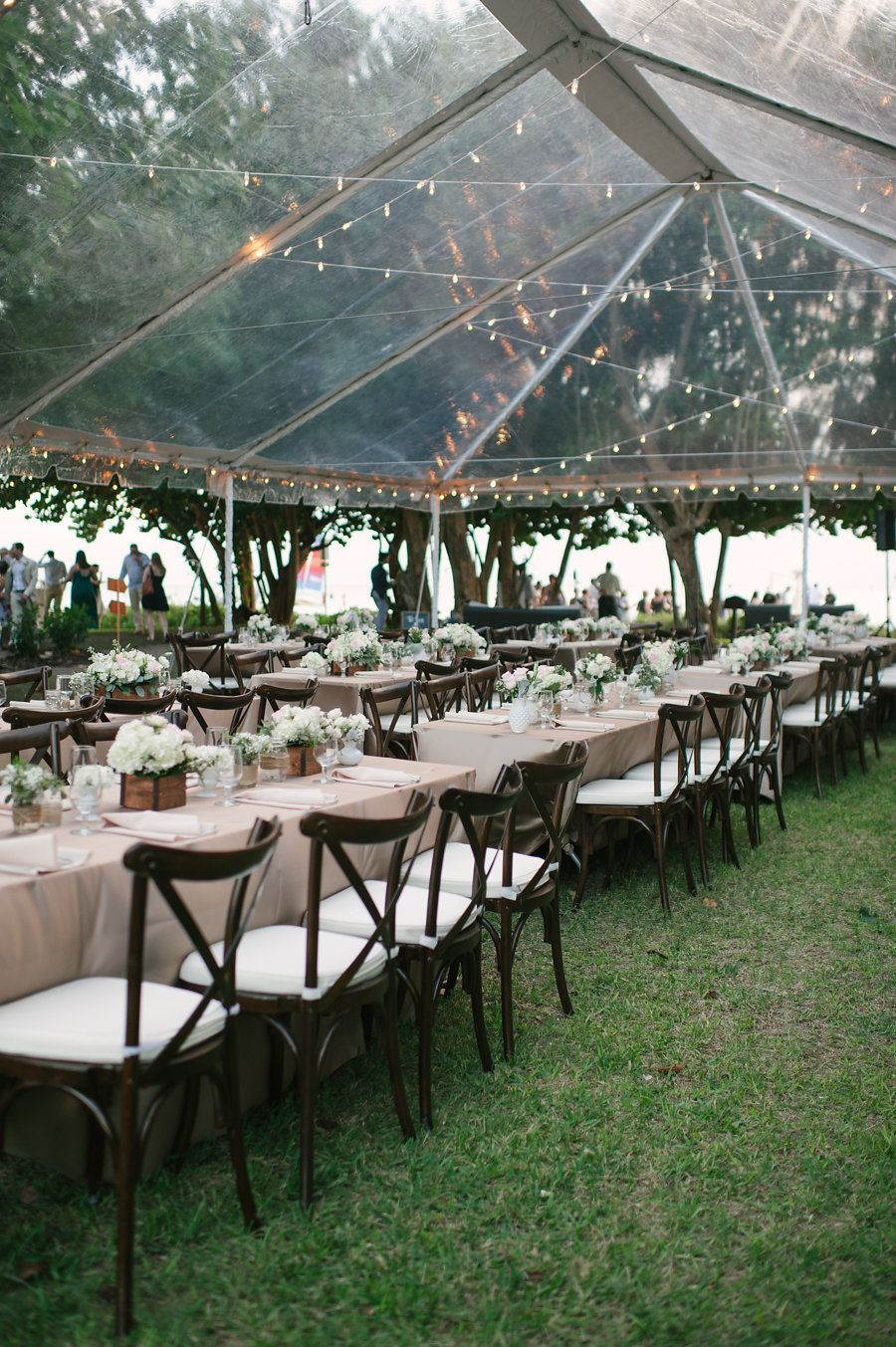 Best ideas about Backyard Wedding Rentals . Save or Pin Clear Wedding Tent Rental Now.