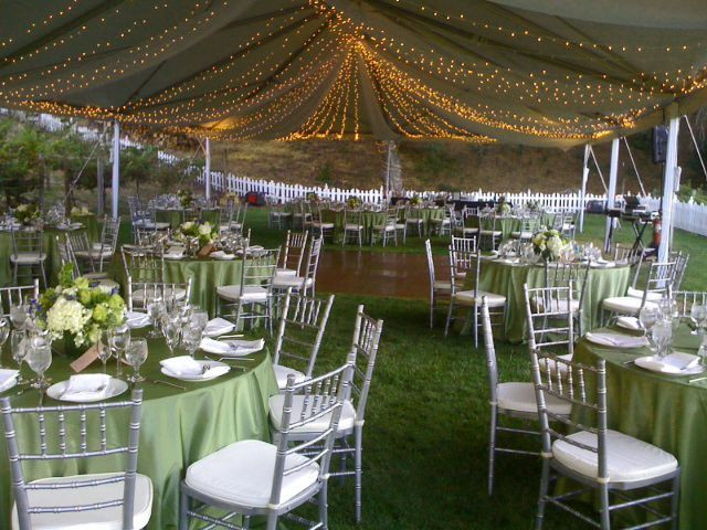Best ideas about Backyard Wedding Rentals . Save or Pin Outdoor Wedding Rental Essentials Now.
