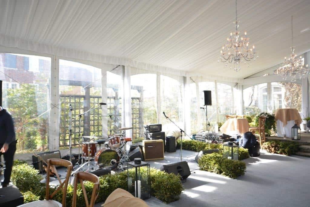 Best ideas about Backyard Wedding Rentals . Save or Pin Custom – Tented Backyard Wedding Now.