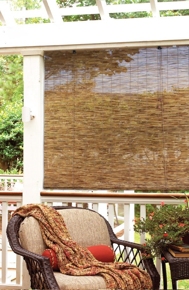 Best ideas about Bamboo Patio Shades . Save or Pin Bamboo Roll Up Window Blinds Patio Porch Sunroom Indoor Now.