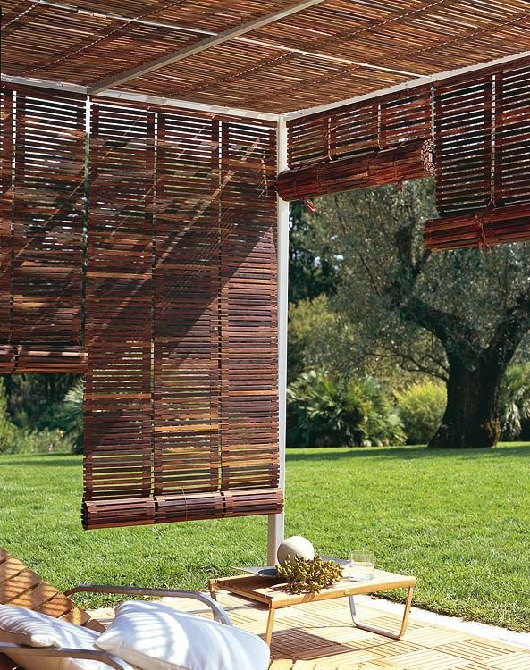 Best ideas about Bamboo Patio Shades . Save or Pin The 25 best Balcony privacy ideas on Pinterest Now.