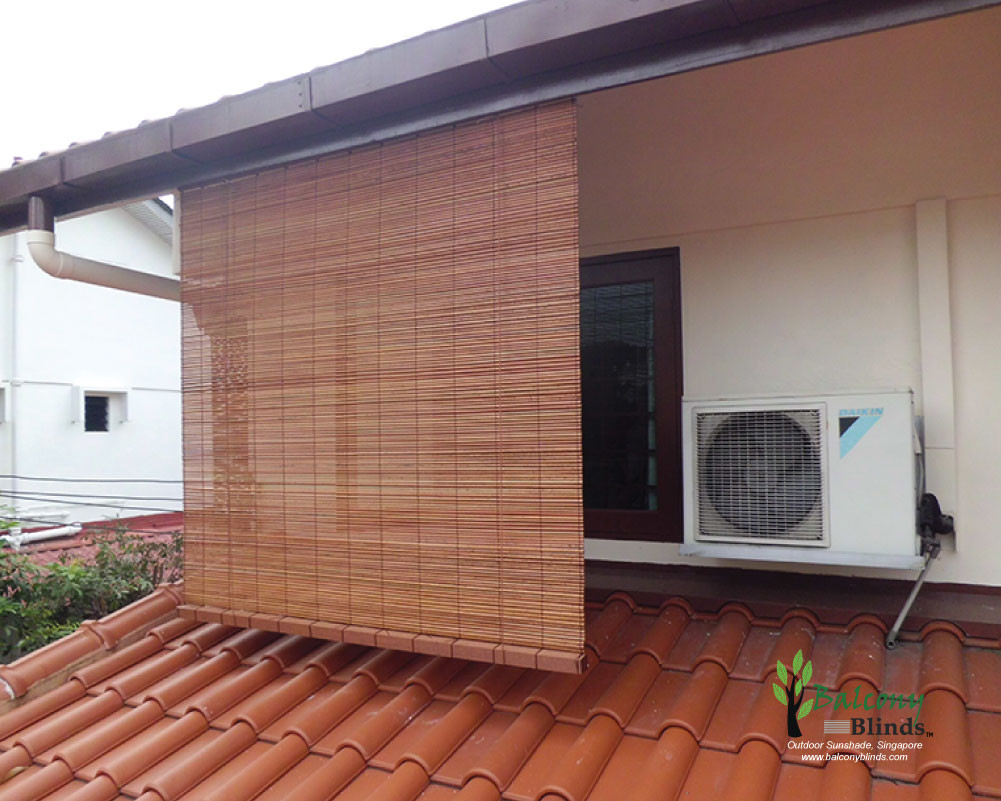 Best ideas about Bamboo Patio Shades . Save or Pin Outdoor Bamboo Blinds Singapore Now.