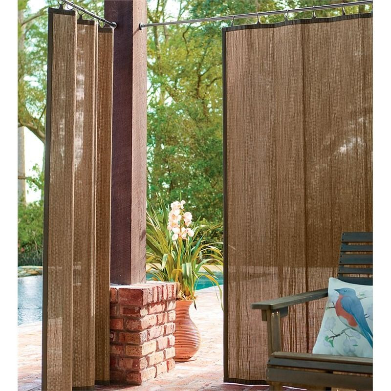 "Best ideas about Bamboo Patio Shades . Save or Pin Outdoor Bamboo Curtain Panel 40""W x 63""L Now."