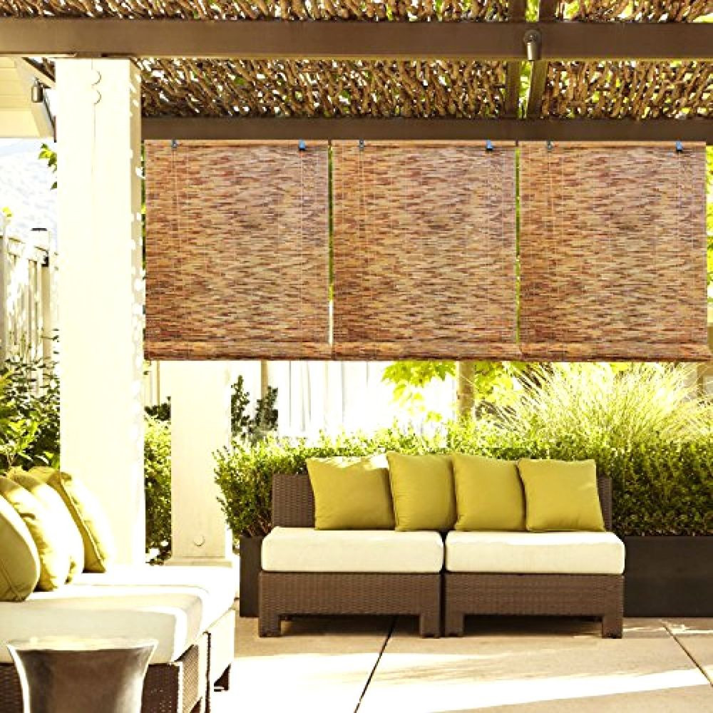 Best ideas about Bamboo Patio Shades . Save or Pin Outdoor Patio Garden Natural Reed Woven Wood Bamboo Roll Now.