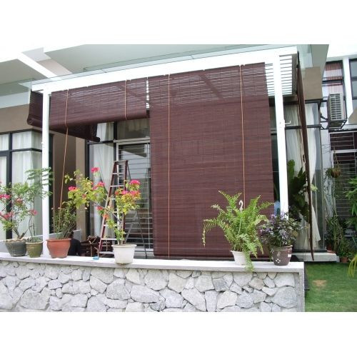 Best ideas about Bamboo Patio Shades . Save or Pin bamboo window shades Protect Your Entertainment Area With Now.