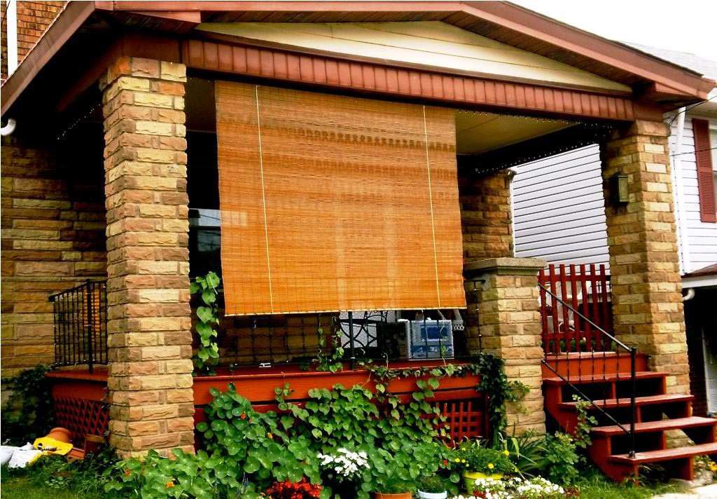 Best ideas about Bamboo Patio Shades . Save or Pin Outdoor Bamboo Shades For Porch Now.