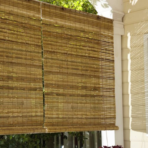 Best ideas about Bamboo Patio Shades . Save or Pin Lewis Hyman Laguna Bamboo Roll Up Blind Price Now.