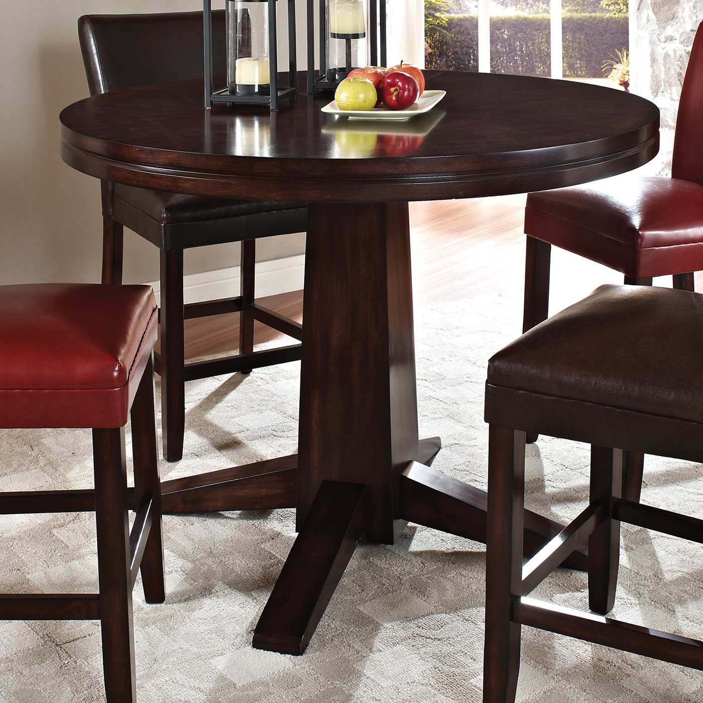 Best ideas about Bar Height Dining Table . Save or Pin Steve Silver pany HF480P Hartford Counter Height Now.