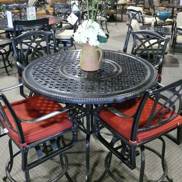 Best ideas about Bar Height Patio Furniture . Save or Pin Grand Terrace Bar Height Now.