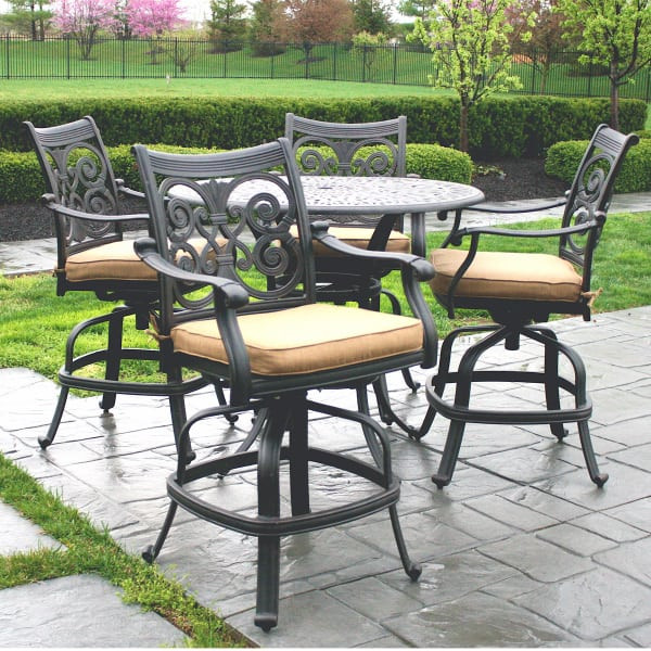 Best ideas about Bar Height Patio Furniture . Save or Pin Victoria Counter Height Patio Furniture by Alfresco Home Now.