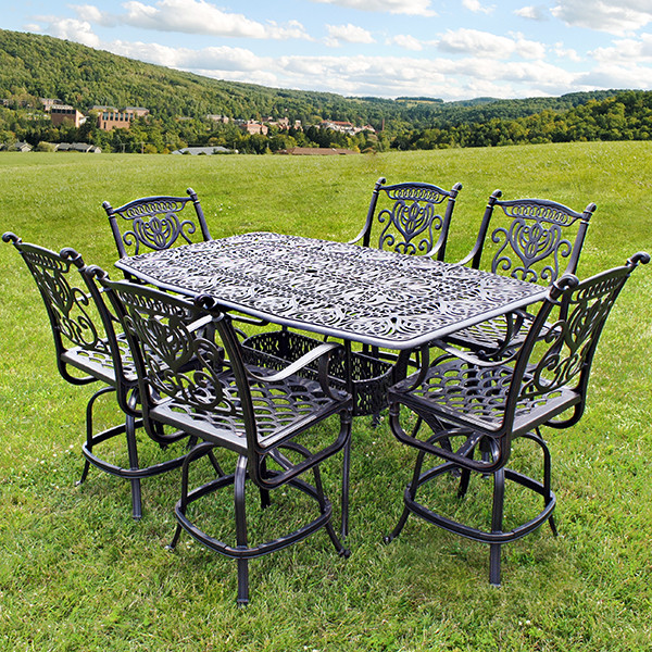 Best ideas about Bar Height Patio Furniture . Save or Pin Grand Tuscany Counter Height Now.