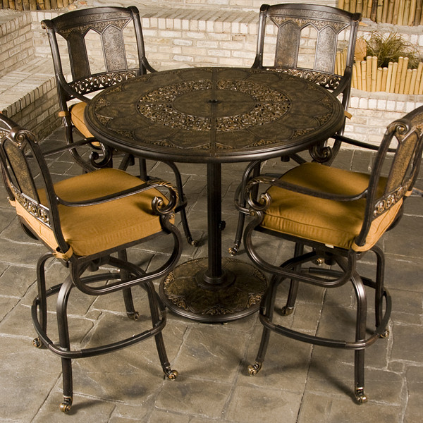 Best ideas about Bar Height Patio Furniture . Save or Pin St Moritz Bar Height Patio Furniture Now.