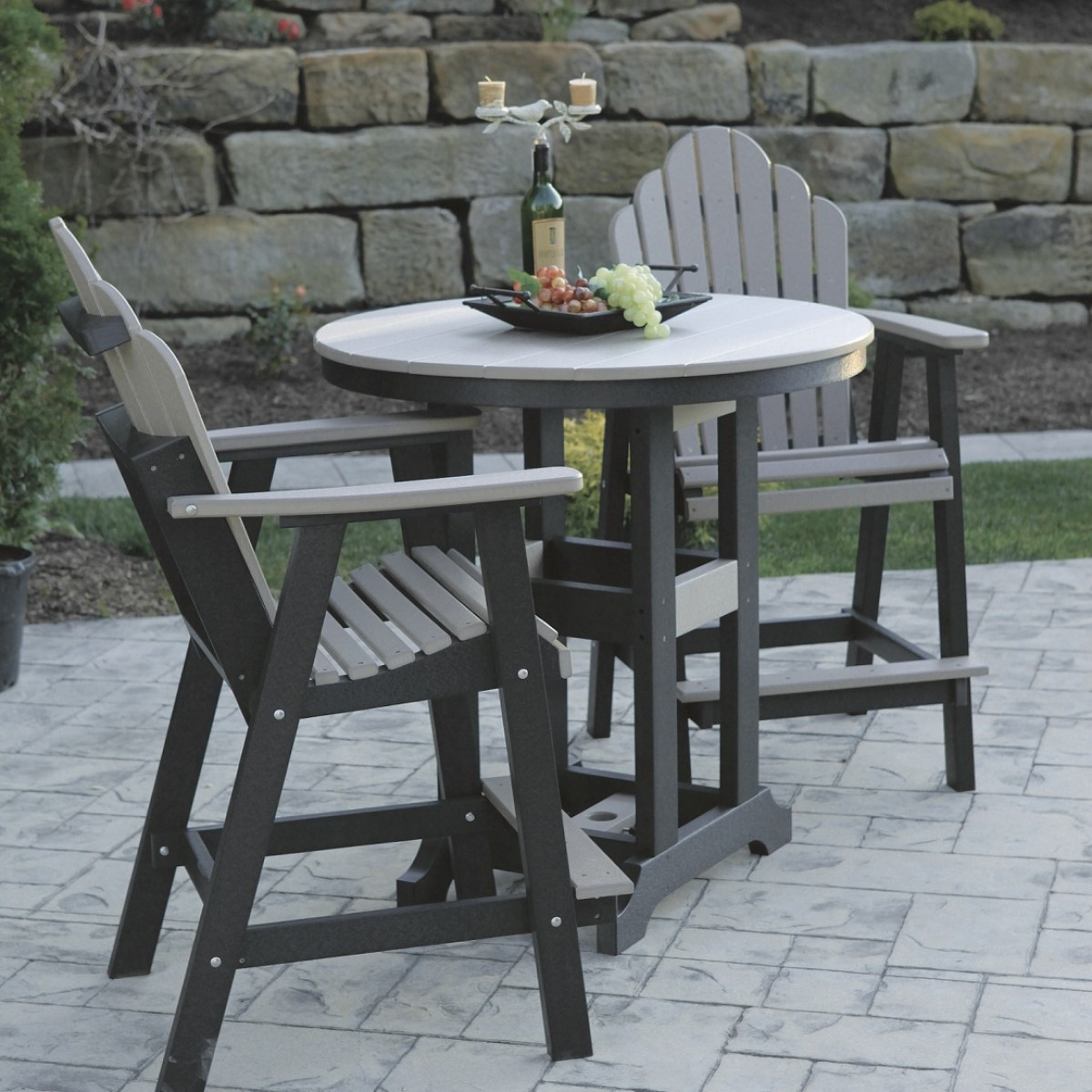 Best ideas about Bar Height Patio Furniture . Save or Pin Furniture Traditional Bar Height Patio Set For Stylish Now.