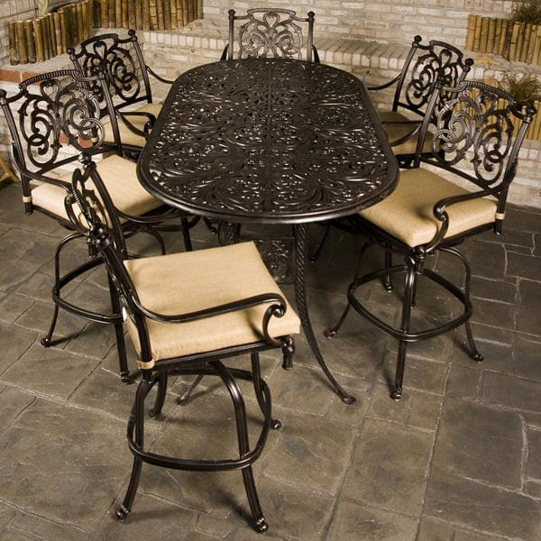 Best ideas about Bar Height Patio Furniture . Save or Pin St Augustine Bar Height Now.
