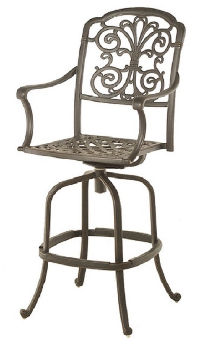 Best ideas about Bar Height Patio Furniture . Save or Pin Bella By Hanamint Luxury Cast Aluminum Patio Furniture Now.