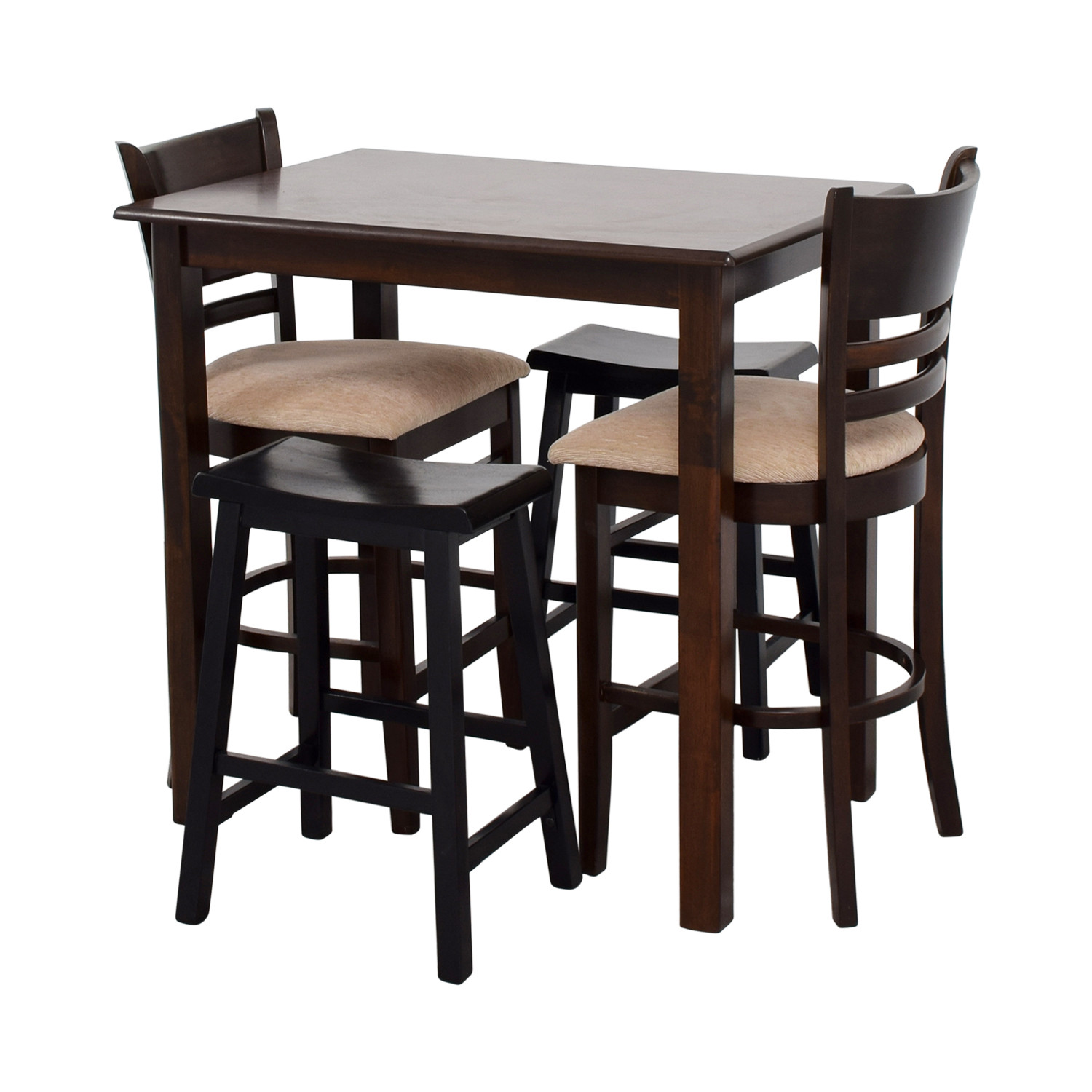 Best ideas about Bar Table And Chairs . Save or Pin OFF Simple Bar Table with Two Chairs and Two Stools Now.