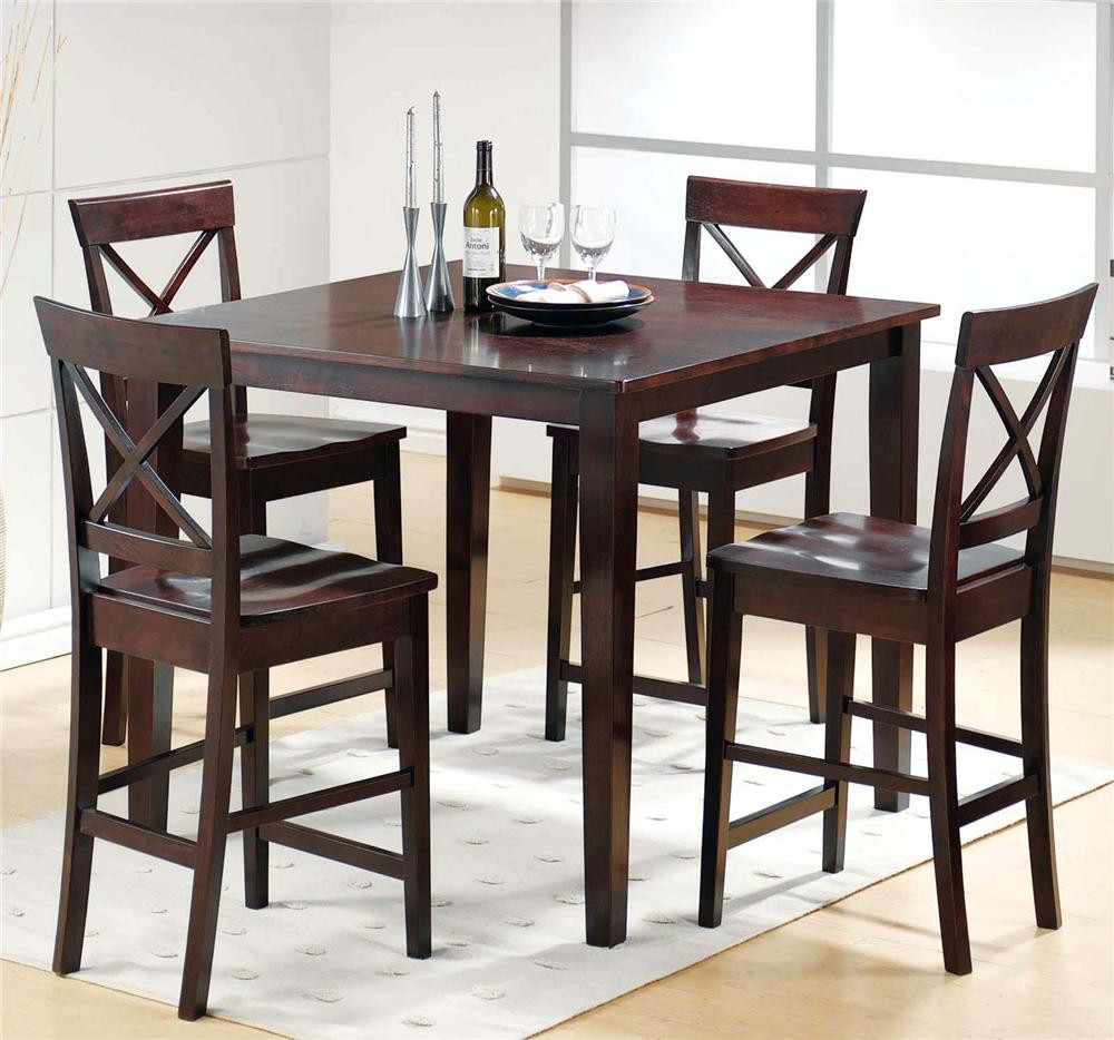 Best ideas about Bar Table And Chairs . Save or Pin Steve Silver Cobalt CT2000E 5 Piece Pub Table & Chair Set Now.