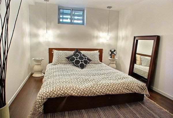 Best ideas about Basement Bedroom Ideas . Save or Pin Best 25 Small basement apartments ideas on Pinterest Now.