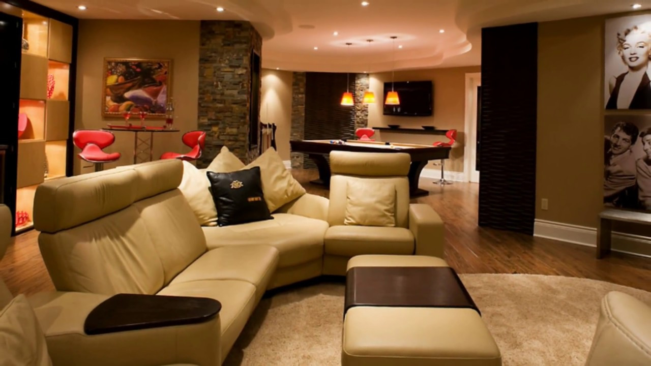Best ideas about Basement Family Room Ideas . Save or Pin Bright Basement Family Room Design Ideas Now.