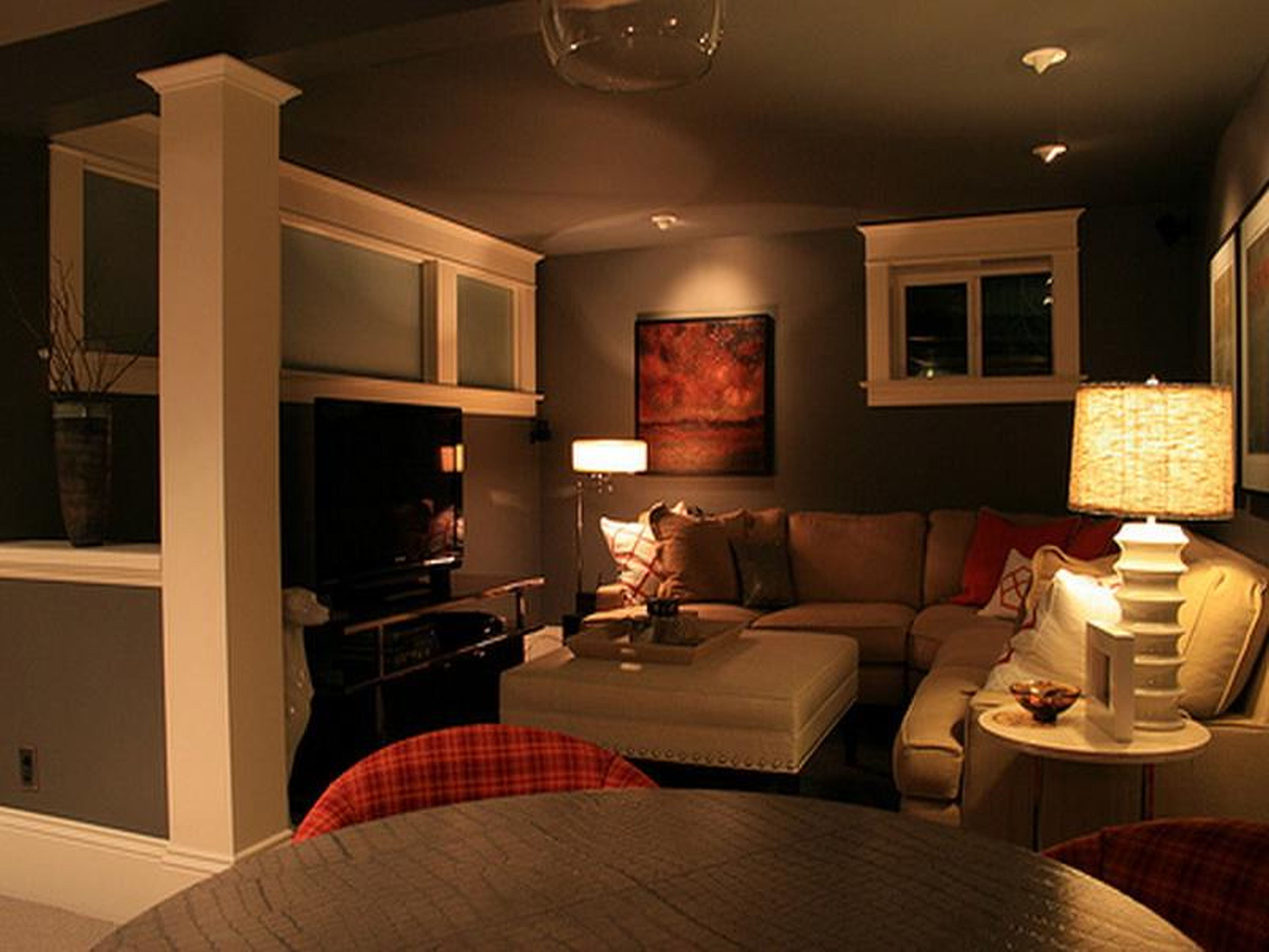 Best ideas about Basement Family Room Ideas . Save or Pin Cool Basement Ideas for Entertainment Traba Homes Now.