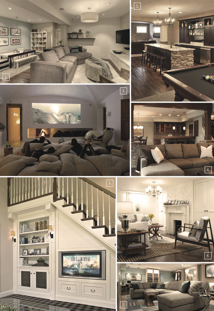 Best ideas about Basement Family Room Ideas . Save or Pin Turning a Basement Into A Family Room Designs & Ideas Now.