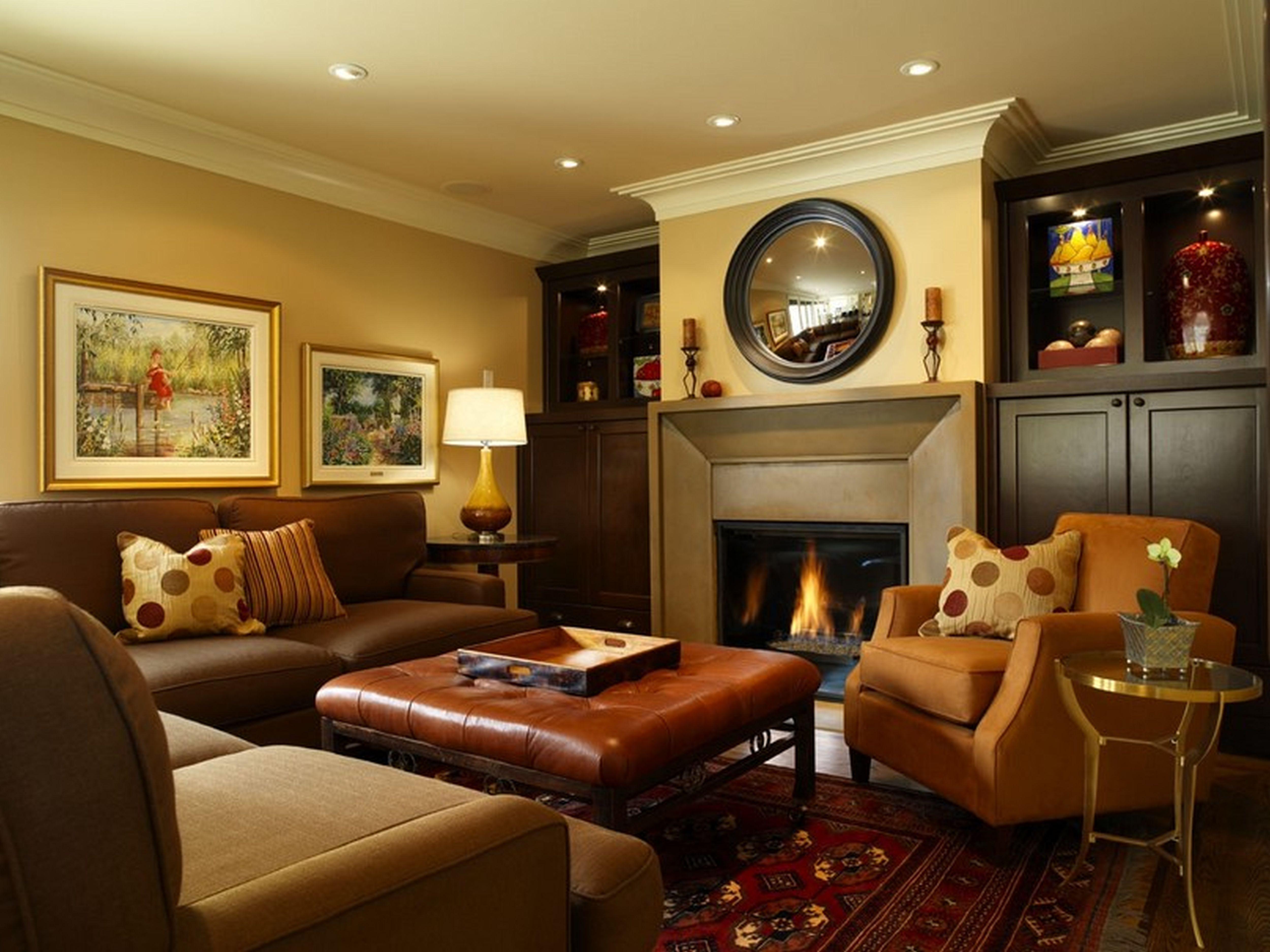Best ideas about Basement Family Room Ideas . Save or Pin Basement Living Room Ideas Homeideasblog Now.