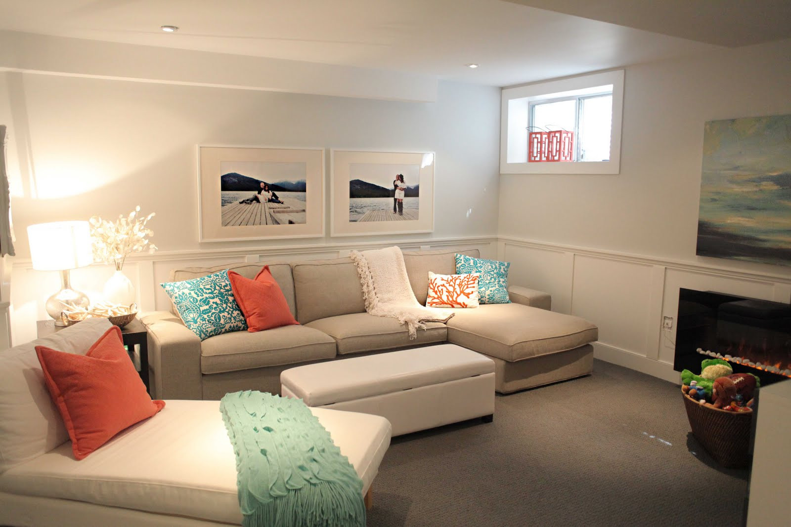 Best ideas about Basement Family Room Ideas . Save or Pin Basement Remodeling Ideas Decorating Basement Now.