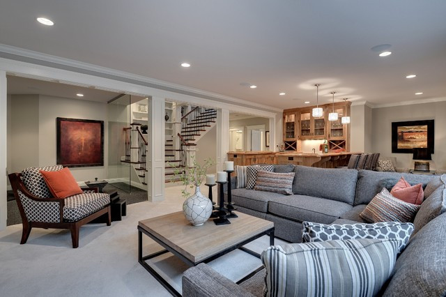 Best ideas about Basement Family Rooms Ideas . Save or Pin 2013 Parade of Homes Dream House Now.