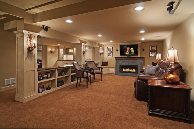 Best ideas about Basement Family Rooms Ideas . Save or Pin 1000 images about Basement Decorating Ideas on Pinterest Now.
