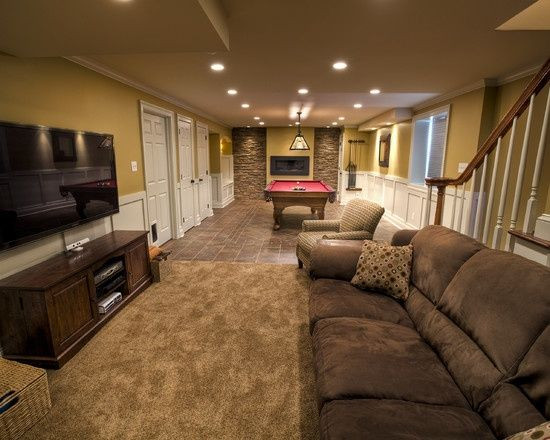 Best ideas about Basement Family Rooms Ideas . Save or Pin Best 25 Narrow basement ideas ideas on Pinterest Now.