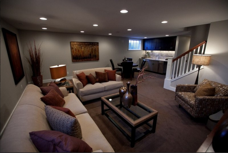 Best ideas about Basement Family Rooms Ideas . Save or Pin 30 Basement Remodeling Ideas & Inspiration Now.