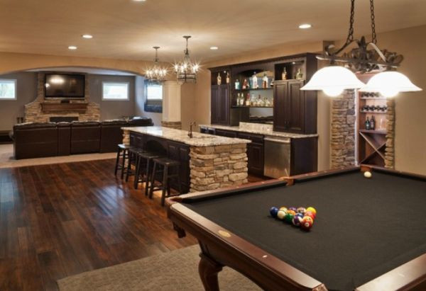 Best ideas about Basement Game Room . Save or Pin Top Five Uses For A Basement Space Now.