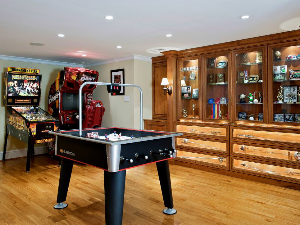Best ideas about Basement Game Room . Save or Pin 23 Game Room Designs Decorating Ideas Now.