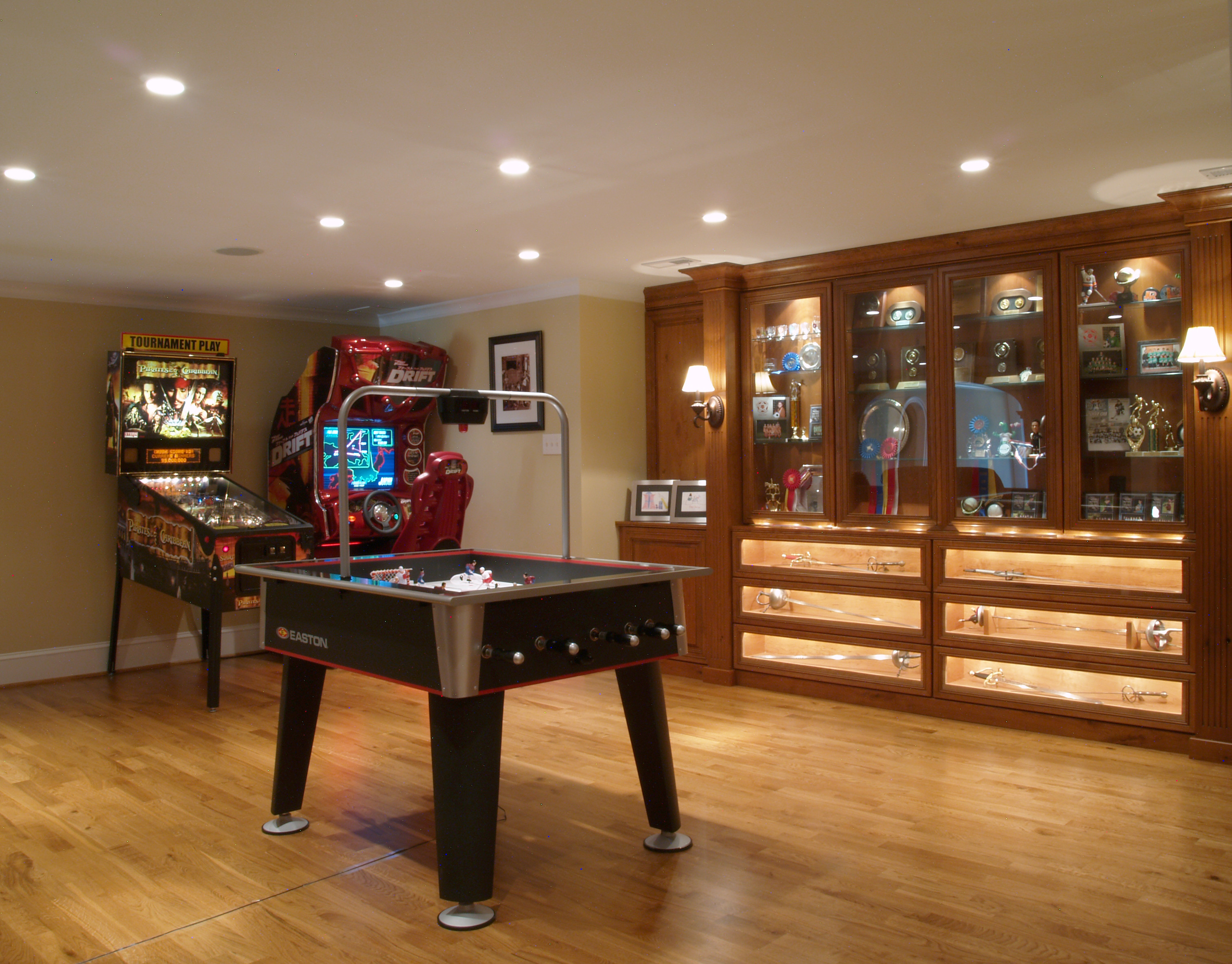 Best ideas about Basement Game Room . Save or Pin Finished Basement Game Room Now.