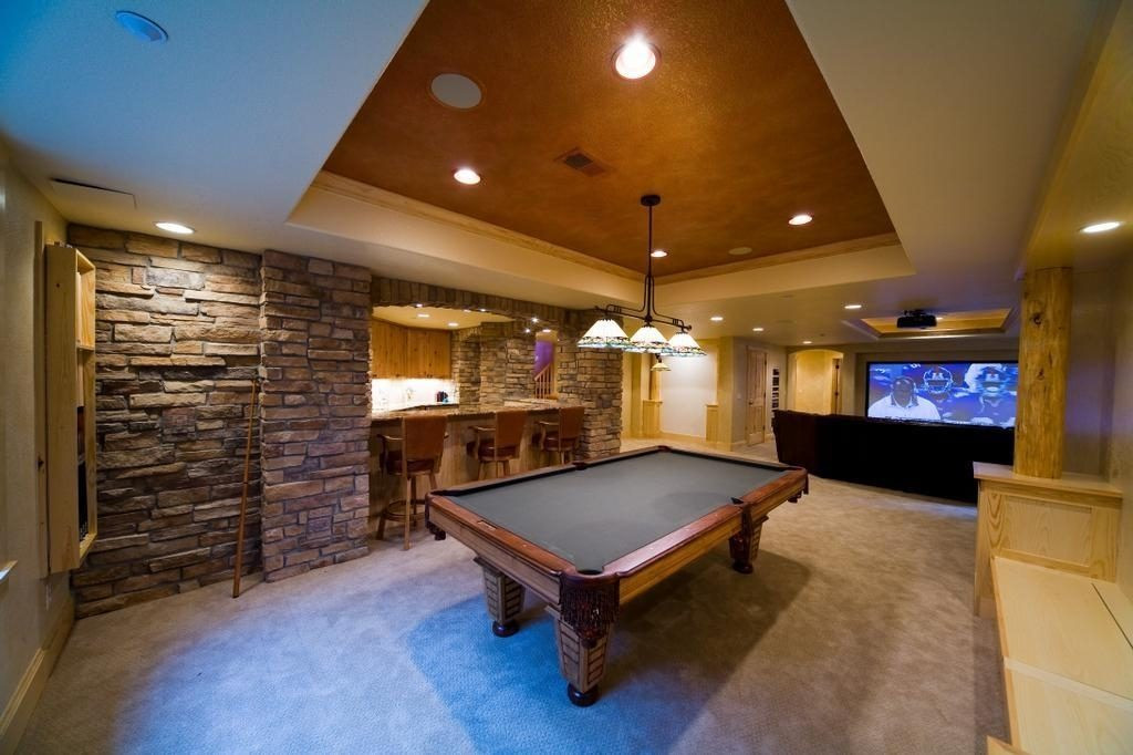 Best ideas about Basement Game Room . Save or Pin 10 Extraordinary Basement Home Theater That You d Wish to Own Now.