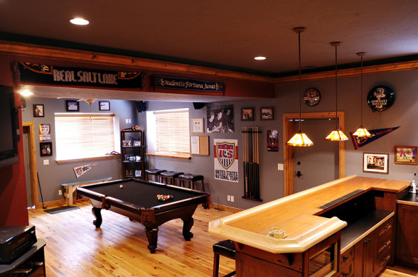 Best ideas about Basement Game Room . Save or Pin Basement Room Ideas Now.