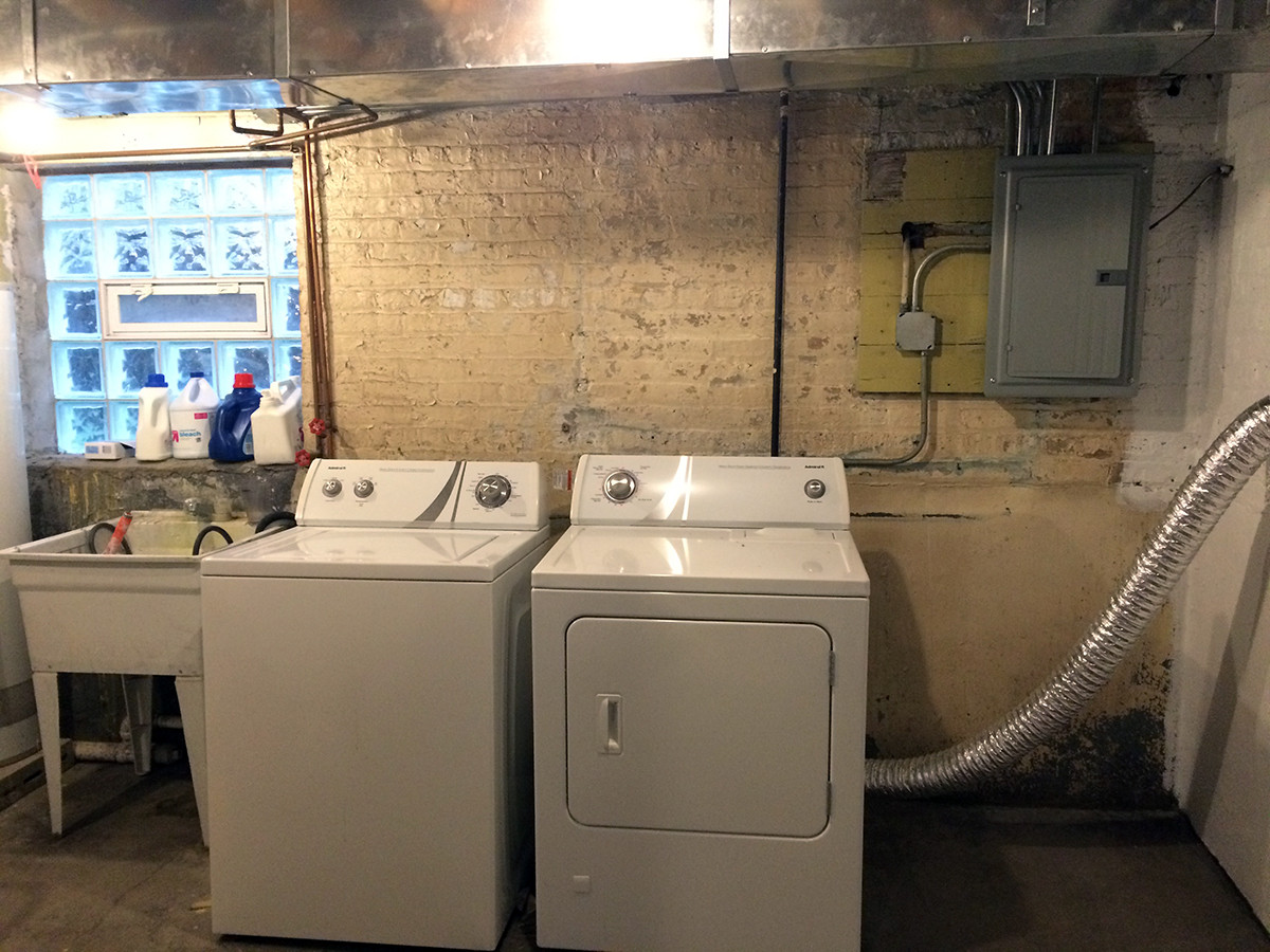 Best ideas about Basement Laundry Rooms . Save or Pin Basement Laundry Room Before and After – Project Palermo Now.