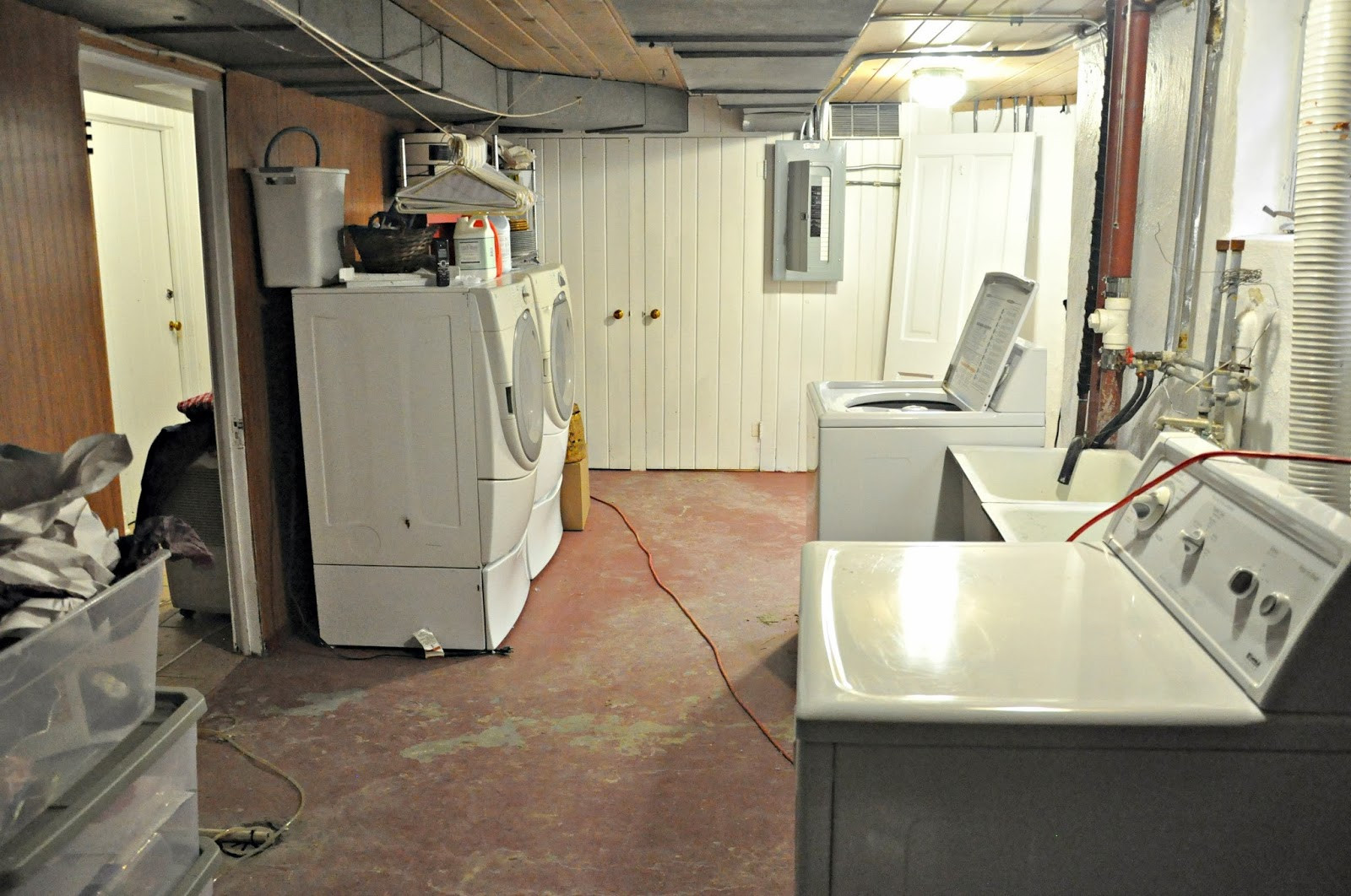 Best ideas about Basement Laundry Rooms . Save or Pin 22 Basement Laundry Room Ideas to Try in Your House Now.